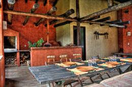 Fazenda Palmares - Ampliação: Terraços  por CABRAL Arquitetos