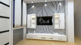 Residential-3BHK-2400sft: modern Bedroom by BNH DESIGNERS