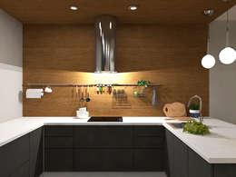 Cocinas de estilo  por AM Design
