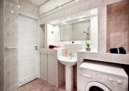 Łazienka po: styl , w kategorii  zaprojektowany przez Mhomestudio