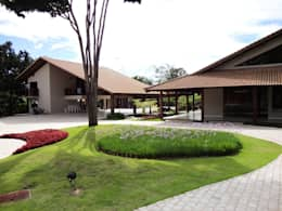 Casas de estilo rural por Guilherme Elias Arquiteto