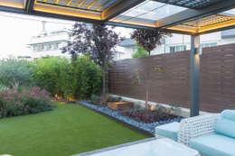 Jardines de estilo moderno por TERESA JARA - ESTUDIO DE PAISAJISMO