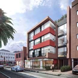 Casas de estilo moderno por CONSTRUCCIONES 2AM S.A.S.