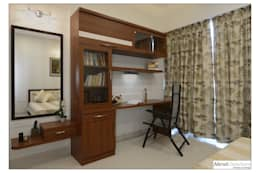 Parents Bed: modern Bedroom by Akruti Interiors Pune
