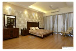 Master Bedroom: modern Bedroom by Akruti Interiors Pune