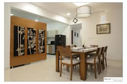 Dining: modern Dining room by Akruti Interiors Pune