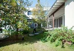 中庭: FrameWork設計事務所が手掛けた庭です。