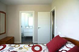 Спальни в . Автор – Casas Cube