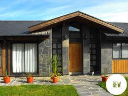 Casas de estilo rural por REW. Arquitectura & Diseño