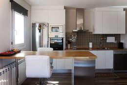 Cocina en casa prefabricada Cube 75: Cocinas de estilo moderno de Casas Cube
