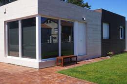 Casa prefabricada Cube 75: Casas de estilo moderno de Casas Cube