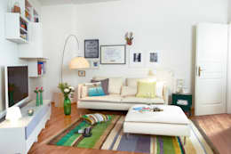 غرفة المعيشة تنفيذ Birgit Knutzen Innenarchitektur