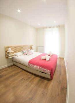 dormitorio 2:  de estilo  de GLOBALITEDECOSTUDIO