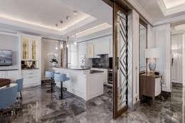 مطبخ تنفيذ NG-STUDIO Interior Design