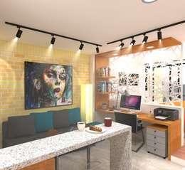 Estudio tipo 1: Casas de estilo moderno por ConstruKapital
