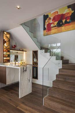 Departamento Polanco I: Cavas de estilo clásico por MAAD arquitectura y diseño