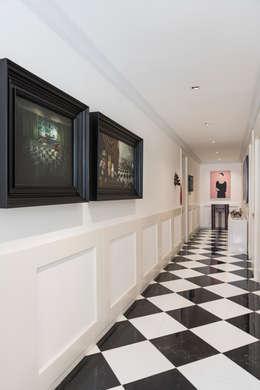 Corridor & hallway by MAAD arquitectura y diseño