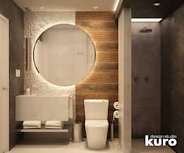 modern Bathroom by Kuro Design Studio