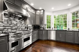 eclectic Kitchen by Main Line Kitchen Design