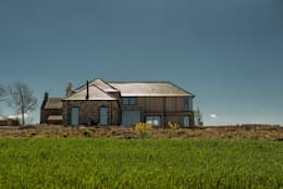 Drumpark Plot 1: rustic Houses by Woodside Parker Kirk Architects