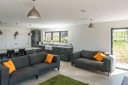 modern Living room by Woodside Parker Kirk Architects