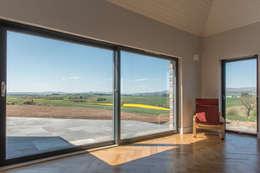 Drumpark Plot 1: rustic Living room by Woodside Parker Kirk Architects
