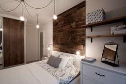 modern Bedroom by IDAFO projektowanie wnętrz i wykończenie