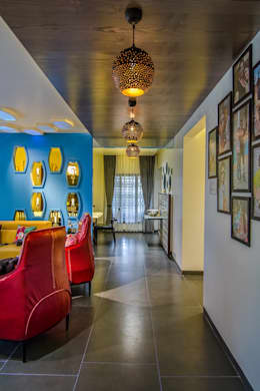 Residential-Chintubhai: modern Living room by J9 Associates