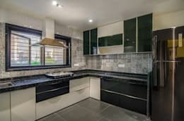 Residential-Chintubhai: modern Kitchen by J9 Associates