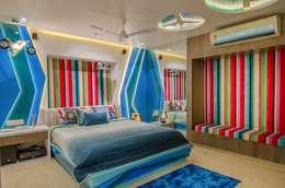 Residential-Chintubhai: modern Bedroom by J9 Associates