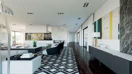 Salon de style de style Moderne par MyWay design