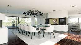 Moradia - Gerês , Portugal: Salas de jantar modernas por MyWay design