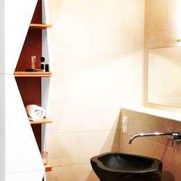 Projekt moderne Einrichtung Urbanes Badezimmer: moderne Badezimmer von noook