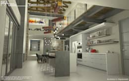 Live: modern Kitchen by Facet Architecture