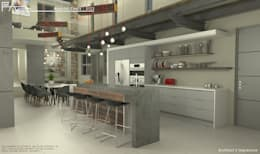 Eat: modern Kitchen by Facet Architecture
