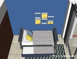 moderne Slaapkamer door MARIANGEL COGHLAN
