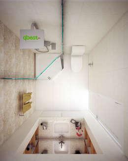Nhà tắm:   by Công ty TNHH Thiết Kế và Ứng Dụng QBEST