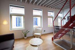 industrial Living room by studio suit
