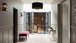 Hallway:  Walls by Fraher Architects Ltd