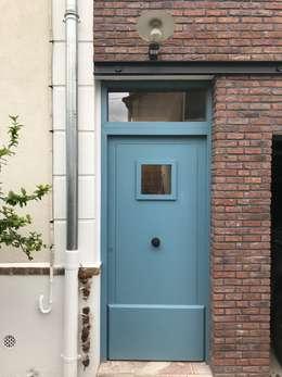 Colombes - Extension en brique : Maisons de style de style Moderne par Atelier d'architecture ASTA