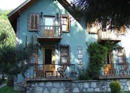 BYAZ İnşaat Mimarlık ve Tasarım – dış mekan-cephe : kırsal tarz tarz Evler