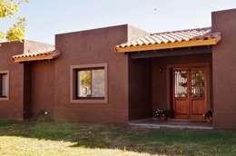 منازل تنفيذ Abitar arquitectura