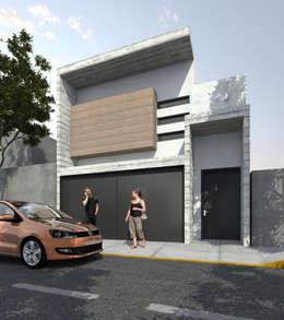 Casas de estilo moderno por Protocolo Ingeniería & Arquitectura