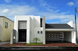 RESIDENCIA JLA: Casas de estilo moderno por TRES EFE ARQUITECTOS
