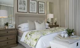 Recent Decorating Projects - Joseph Avnon Interiors: classic Bedroom by Joseph Avnon Interiors