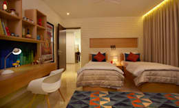 Home projects: modern Bedroom by Zeba India Pvt. Ltd.
