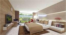 modern Bedroom by Aripan Design