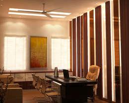 PKS Office Noida Sec-63:  Offices & stores by Design Essentials