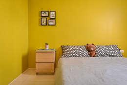 客房:  臥室 by 存果空間設計有限公司