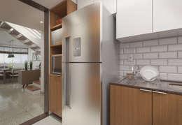 Cocinas de estilo moderno por Filipe Castro Arquitetura   Design